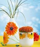 Glasmalerei Porzellanmalerei Blumenblueten