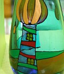Glasmalerei Hundertwasser
